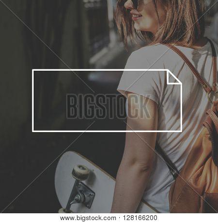Brand Branding Logo Label Rectangle Concept