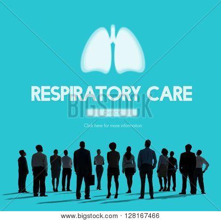 Lungs Medicine Pneumonia Asthma Bronchitis Concept
