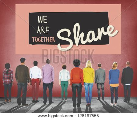 Share Sharing Communication Connection Social Concept