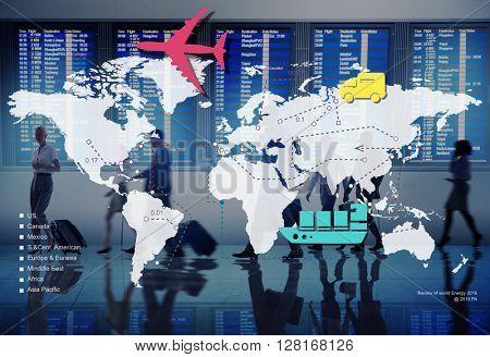 Travelling Trip Journey International Destination Concept
