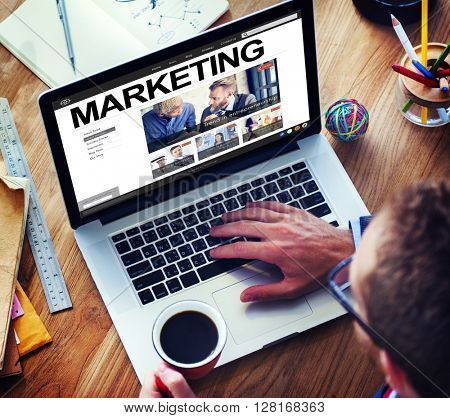 Market Marketing Advertisement Commercial Consumer Concept