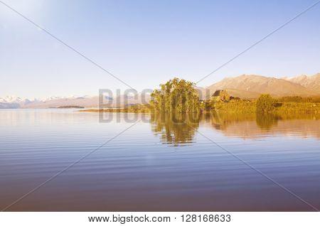 Landscape Attraction Nature Mountain River Concept