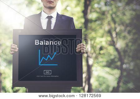 Balance Banking Finance Businessman Concept