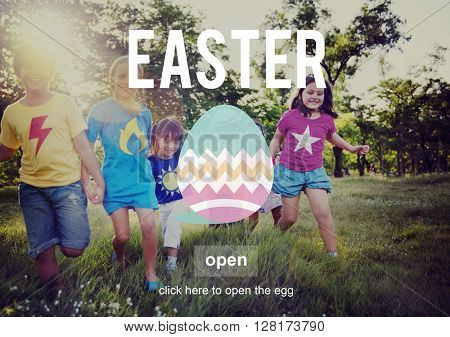 Easter Holiday Happiness Celebration Seasonal Concept