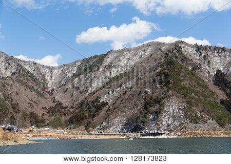 Motosu lake
