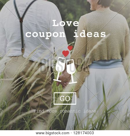 Love Quotes Romance Valentines Website Concept