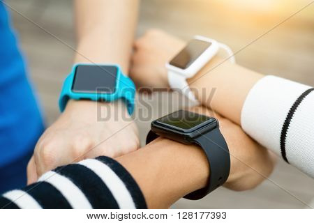 People use of smart watch