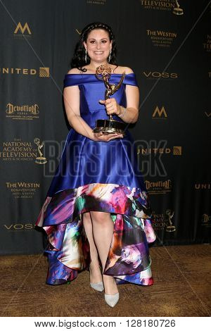 LOS ANGELES - APR 29:  Christine Toye - Creative Emmy Winner at the 43rd Daytime Emmy Creative Awards at the Westin Bonaventure Hotel  on April 29, 2016 in Los Angeles, CA