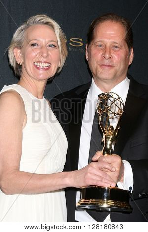 LOS ANGELES - APR 29:  Gabrielle Hamilton, David Kinch - Creative Emmy Winners at the 43rd Daytime Emmy Creative Awards at the Westin Bonaventure Hotel  on April 29, 2016 in Los Angeles, CA