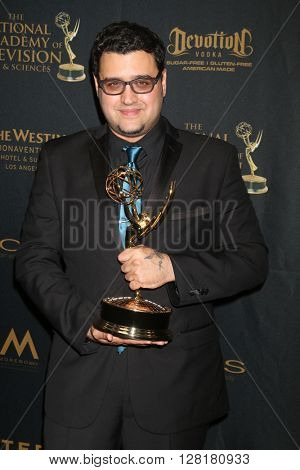 LOS ANGELES - APR 29:  Gregori J. Martin at the 43rd Daytime Emmy Creative Awards at the Westin Bonaventure Hotel  on April 29, 2016 in Los Angeles, CA