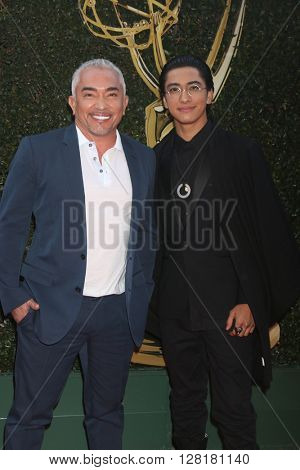 LOS ANGELES - APR 29:  Cesar Millan, son at the 43rd Daytime Emmy Creative Awards at the Westin Bonaventure Hotel  on April 29, 2016 in Los Angeles, CA