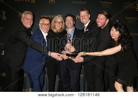 LOS ANGELES - APR 29:  ELLEN - Creative Daytime Emmy Award Winners at the 43rd Daytime Emmy Creative Awards at the Westin Bonaventure Hotel  on April 29, 2016 in Los Angeles, CA