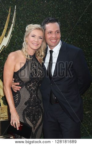 LOS ANGELES - APR 29:  Katherine Kelly Lang, Dominique Zoida at the 43rd Daytime Emmy Creative Awards Arrivals at the Westin Bonaventure Hotel  on April 29, 2016 in Los Angeles, CA