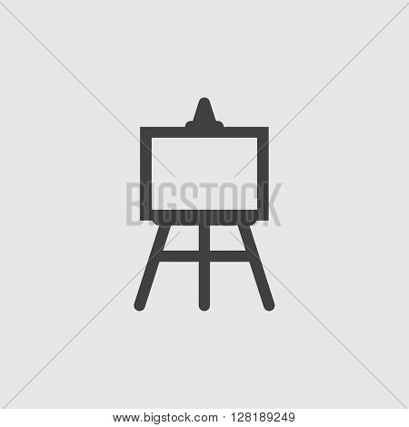 Easel icon illustration isolated vector sign symbol