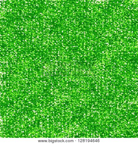 Glittering green background
