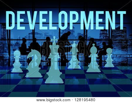 Development Change Improve Innovation Learning Concept