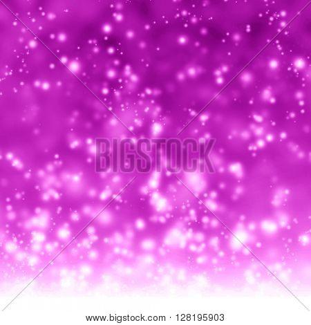 Glittering pink background