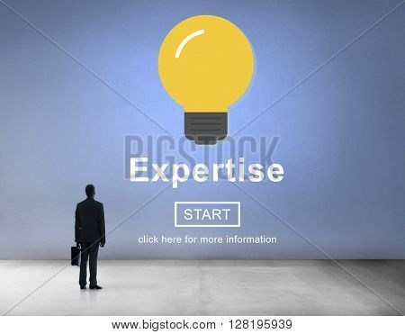 Expertise Insight Intelligence Knowledge Professional Concept