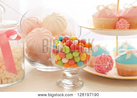 Candy bar at Birthday party