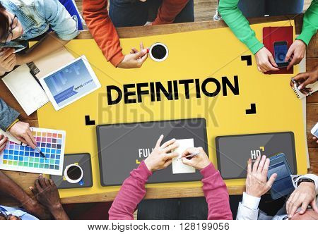 Definition Dictionary Meaning Specification Learn Concept
