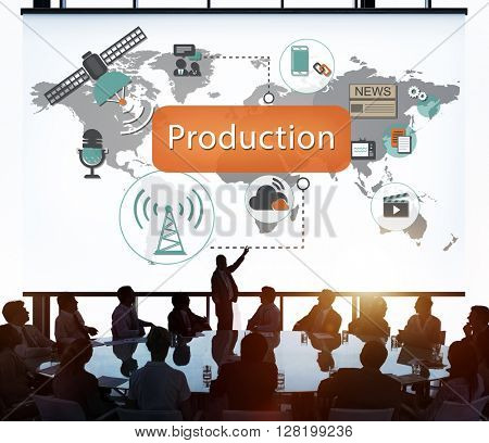 Production Result Retail Supply Distribution Concept
