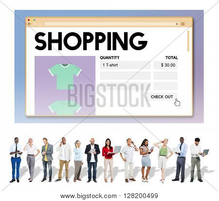 Shopping Marketing Purchase Shopaholic Spending Concept