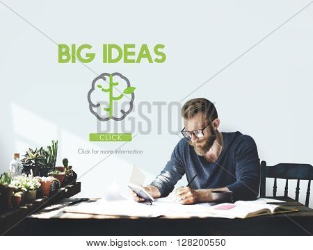 Big Data Creative Thinking Ideas Concept