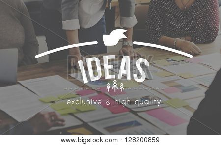 Ideas Plan Strategy Action Suggestion Vision Concept