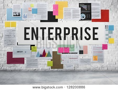 Enterprise Business Campaign Company Firm Concept