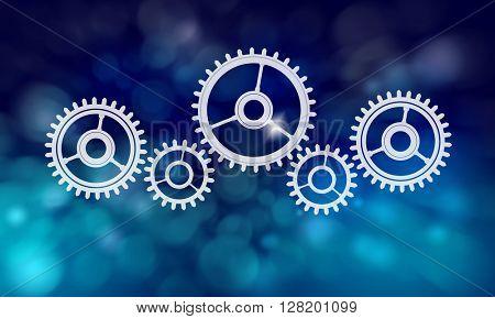 Gears mechanism background