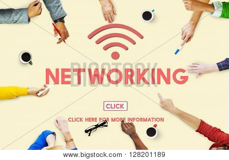 Networking Computer System Connection Internet Concept