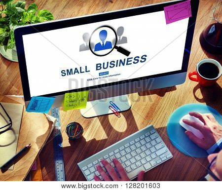 Small Business Information Development Niche Concept