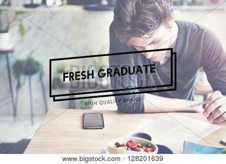 Fresh Graduate Academic Achievement Concept
