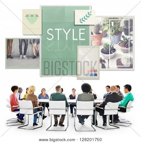 Style Design Creativity Trends Concept