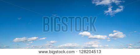 cloud sky panorame