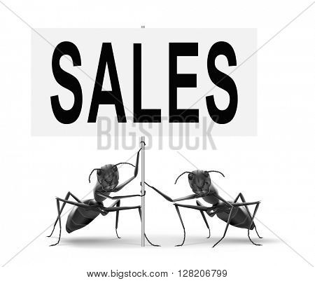 sales online shopping concept with discount web shop bargain cheap order at webshop sale road sign billboard