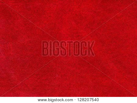 Abstract Red Leather Texture.