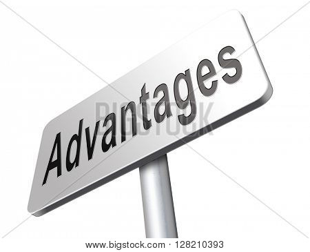Advantages and benefits, competetive advantage in business and marketing.