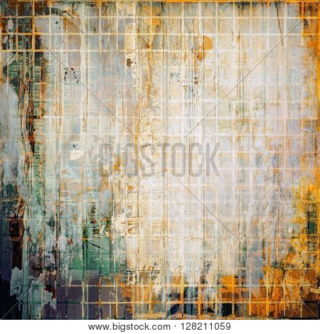 Abstract retro design composition. Stylish grunge background or texture with different color patterns: yellow (beige); brown; gray; green; white