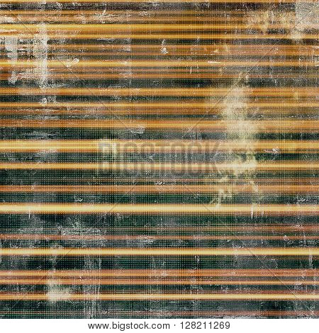Vintage mottled frame, textured grunge background with different color patterns: yellow (beige); brown; gray; green; black
