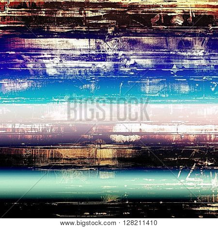 Distressed texture, faded grunge background or backdrop. With different color patterns: yellow (beige); blue; purple (violet); black; white; pink