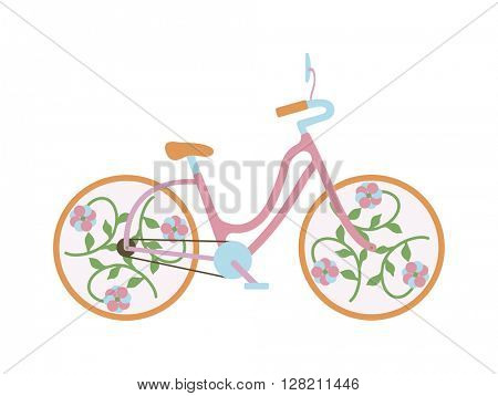 Vintage old bike