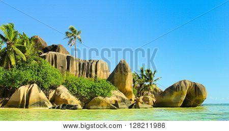 Anse Source d'Argent National Park