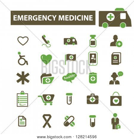 emergency medicine icons