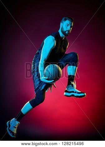 basketball player man Isolated