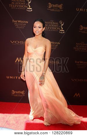 LOS ANGELES - MAY 1:  Karrueche Tran at the 43rd Daytime Emmy Awards at the Westin Bonaventure Hotel  on May 1, 2016 in Los Angeles, CA