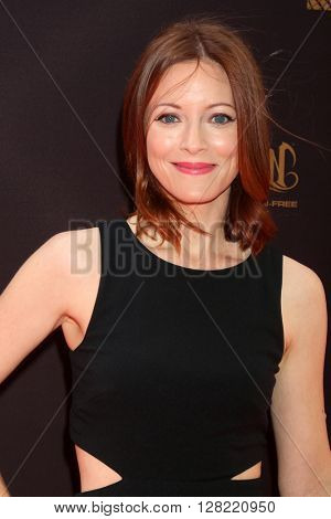 LOS ANGELES - MAY 1:  Elizabeth Bogush at the 43rd Daytime Emmy Awards at the Westin Bonaventure Hotel  on May 1, 2016 in Los Angeles, CA