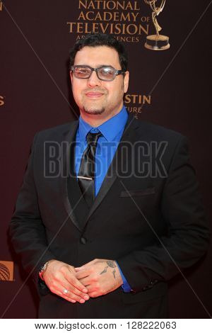 LOS ANGELES - MAY 1:  Gregori J Martin at the 43rd Daytime Emmy Awards at the Westin Bonaventure Hotel  on May 1, 2016 in Los Angeles, CA