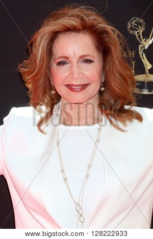 LOS ANGELES - MAY 1:  Suzanne Rogers at the 43rd Daytime Emmy Awards at the Westin Bonaventure Hotel  on May 1, 2016 in Los Angeles, CA