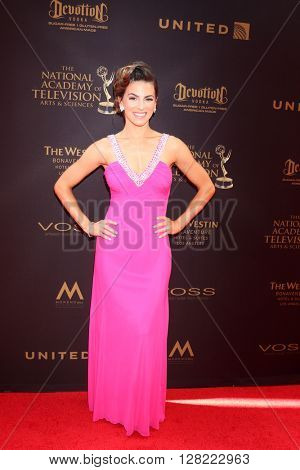 LOS ANGELES - MAY 1:  Renee Marino at the 43rd Daytime Emmy Awards at the Westin Bonaventure Hotel  on May 1, 2016 in Los Angeles, CA